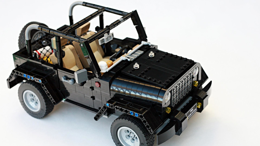 Lego Jeep Wrangler Rubicon build proposal needs to be approved