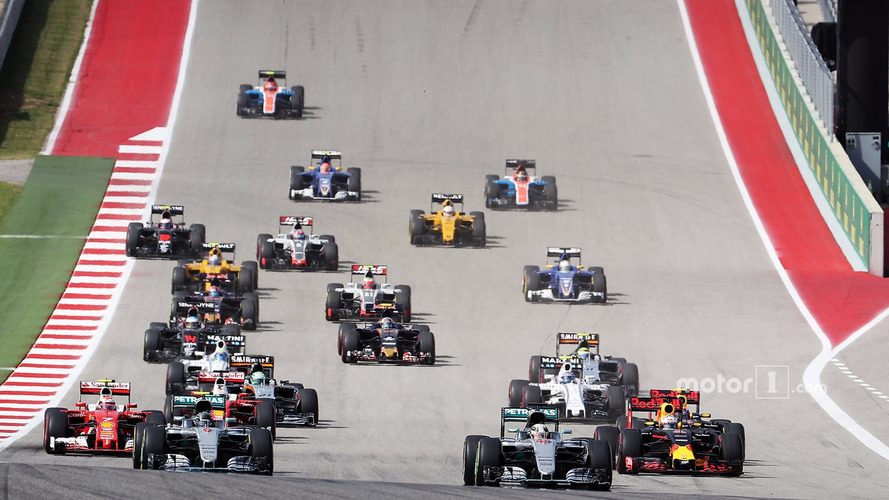 F1 United States Grand Prix - Race Results