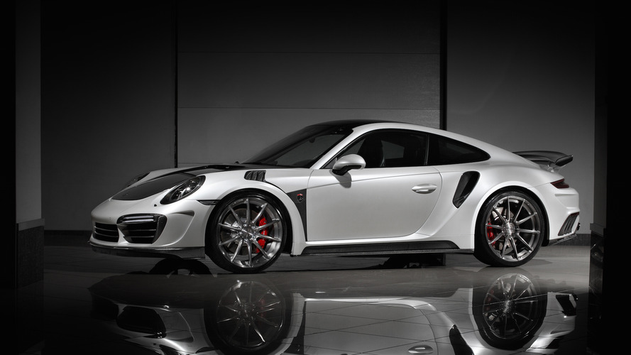 Tuned Porsche 911 Turbo S packs 750 hp and GT3 RS design cues