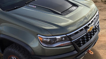 Chevrolet unveils the rugged, diesel-powered Colorado ZR2 concept [video]