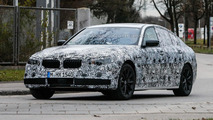 2016 BMW 518d with 150 HP three-cylinder engine and AWD 600 HP M5 planned?