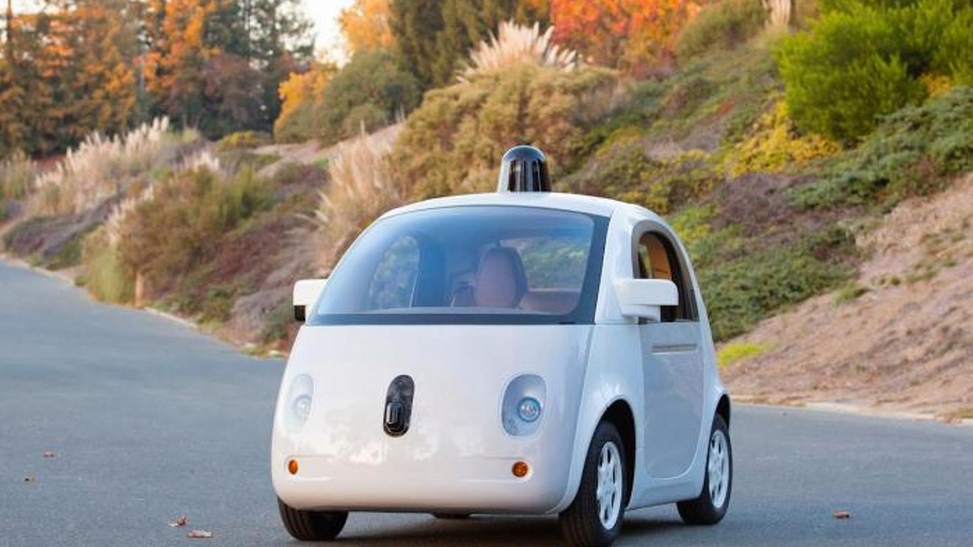 Google reveals its self-driving car in production form