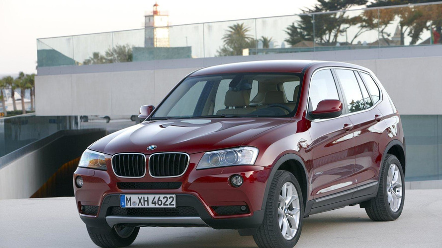 BMW fixing 210K total crossovers in two recalls