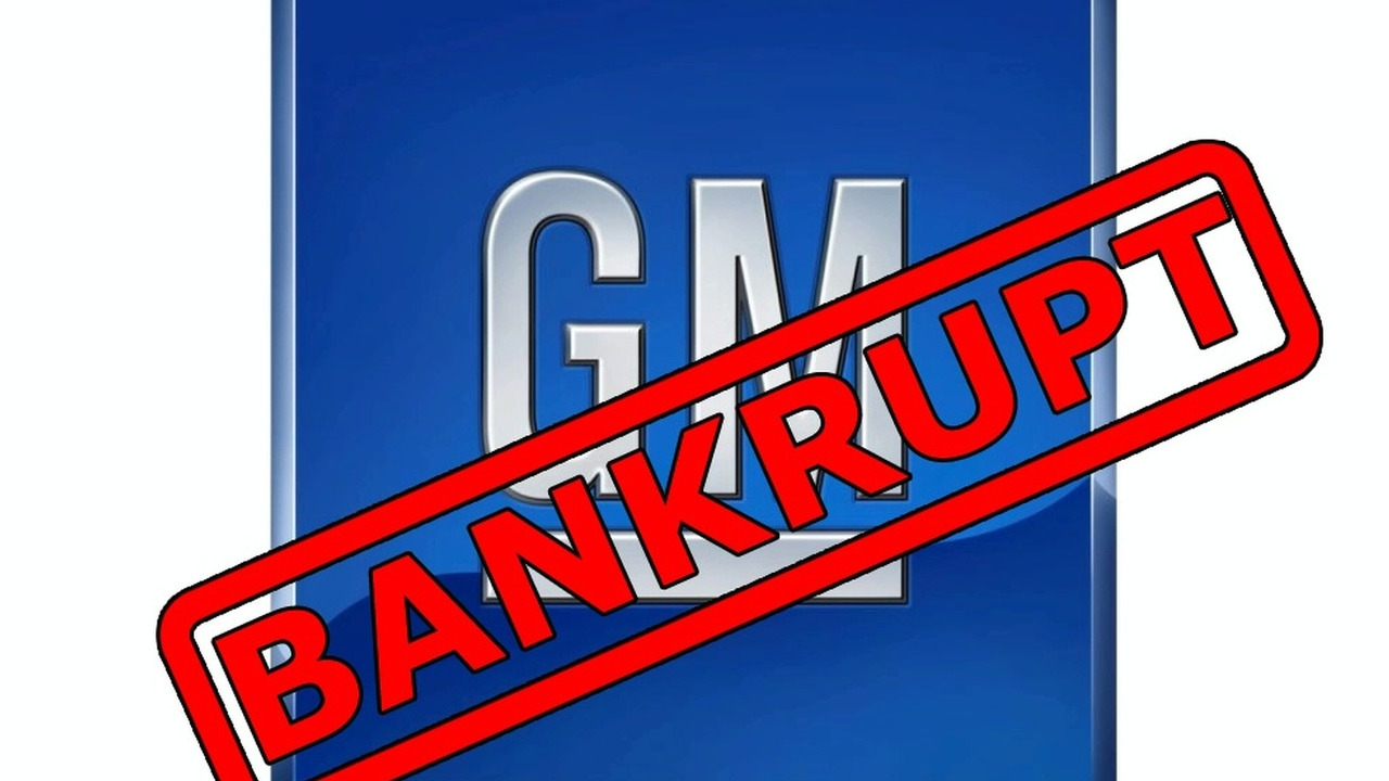 General Motors Bankrupt