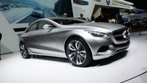 Mercedes F800 Research Vehicle Avante Garde Design in Geneva
