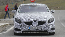 2014 Mercedes S63 AMG Coupe spied on video