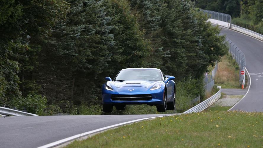 2014 Chevrolet Corvette tackles the Nurburgring [video]