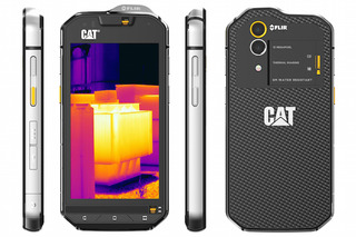 Caterpillar Just Built a Rugged Smartphone With Thermal Imaging Technology