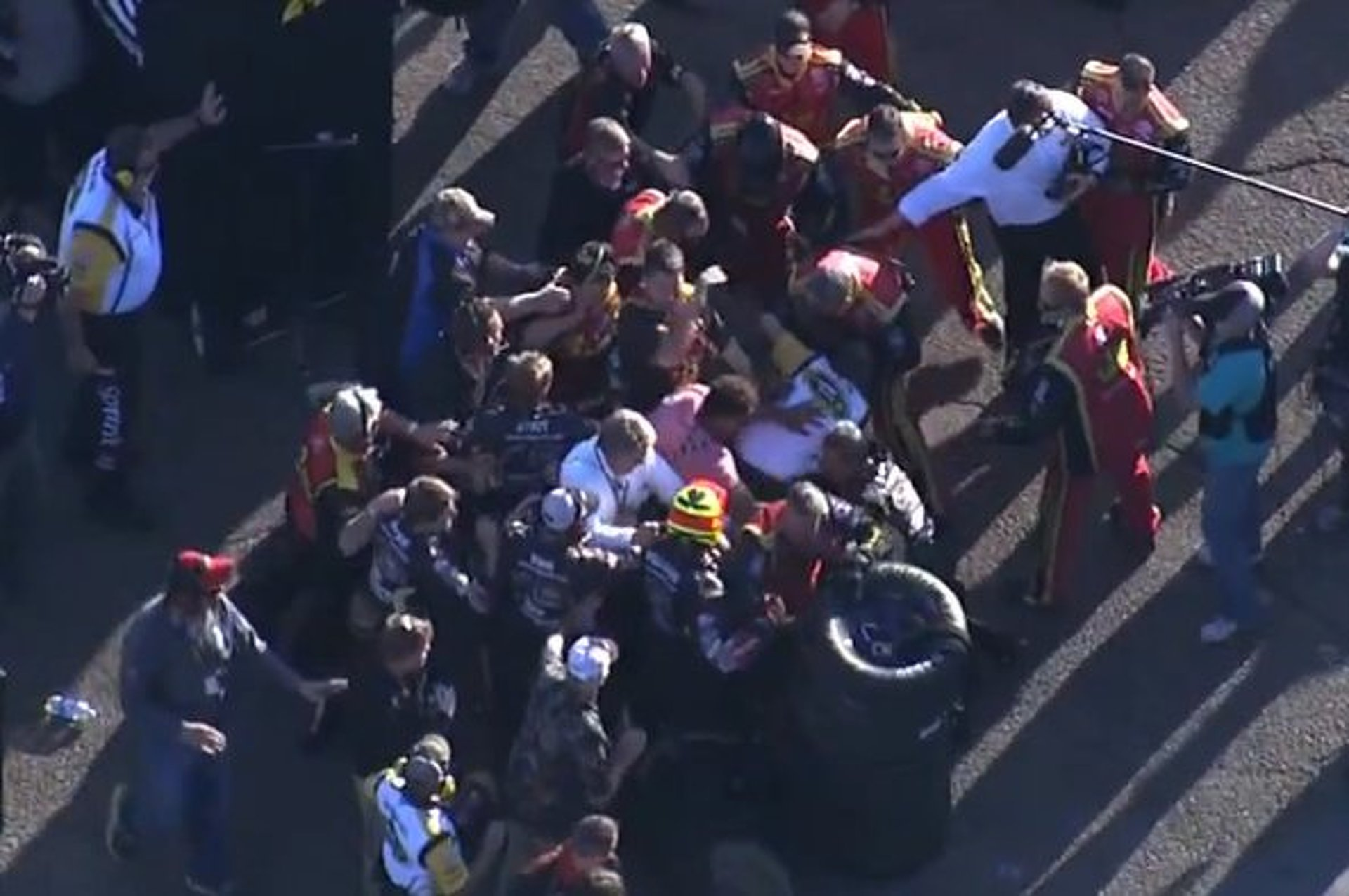Fights, Wrecks and Beer- Another Weekend in NASCAR
