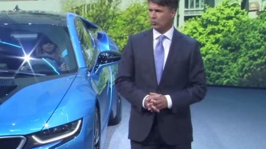 BMW CEO Harald Krueger is fine, back at work