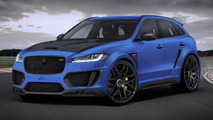 LUMMA Design spices up Jaguar F-PACE with 24-inch wheels