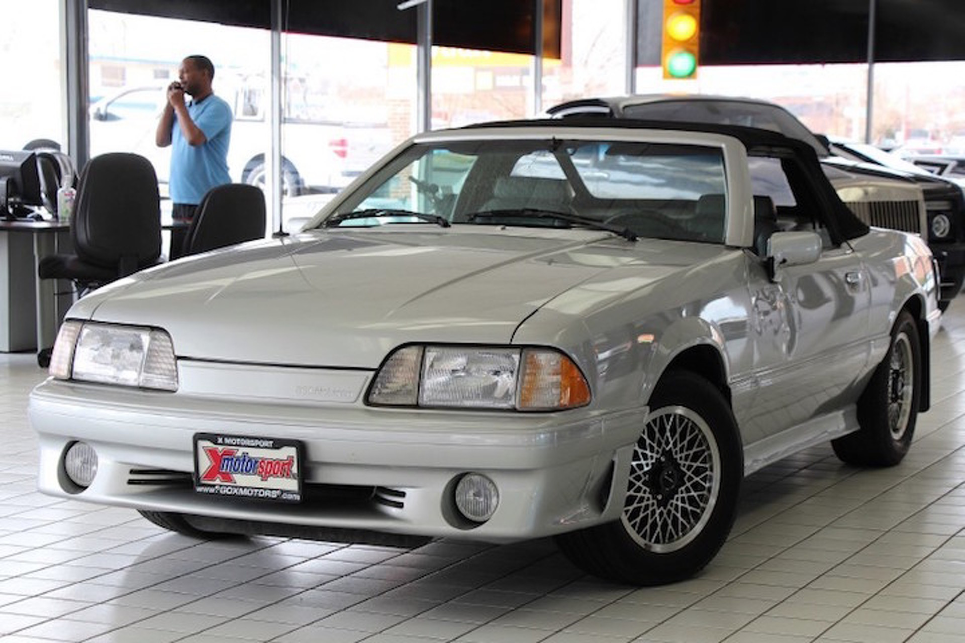 Rare Ford Mustang ASC McLaren Has the Spirit of the '80s