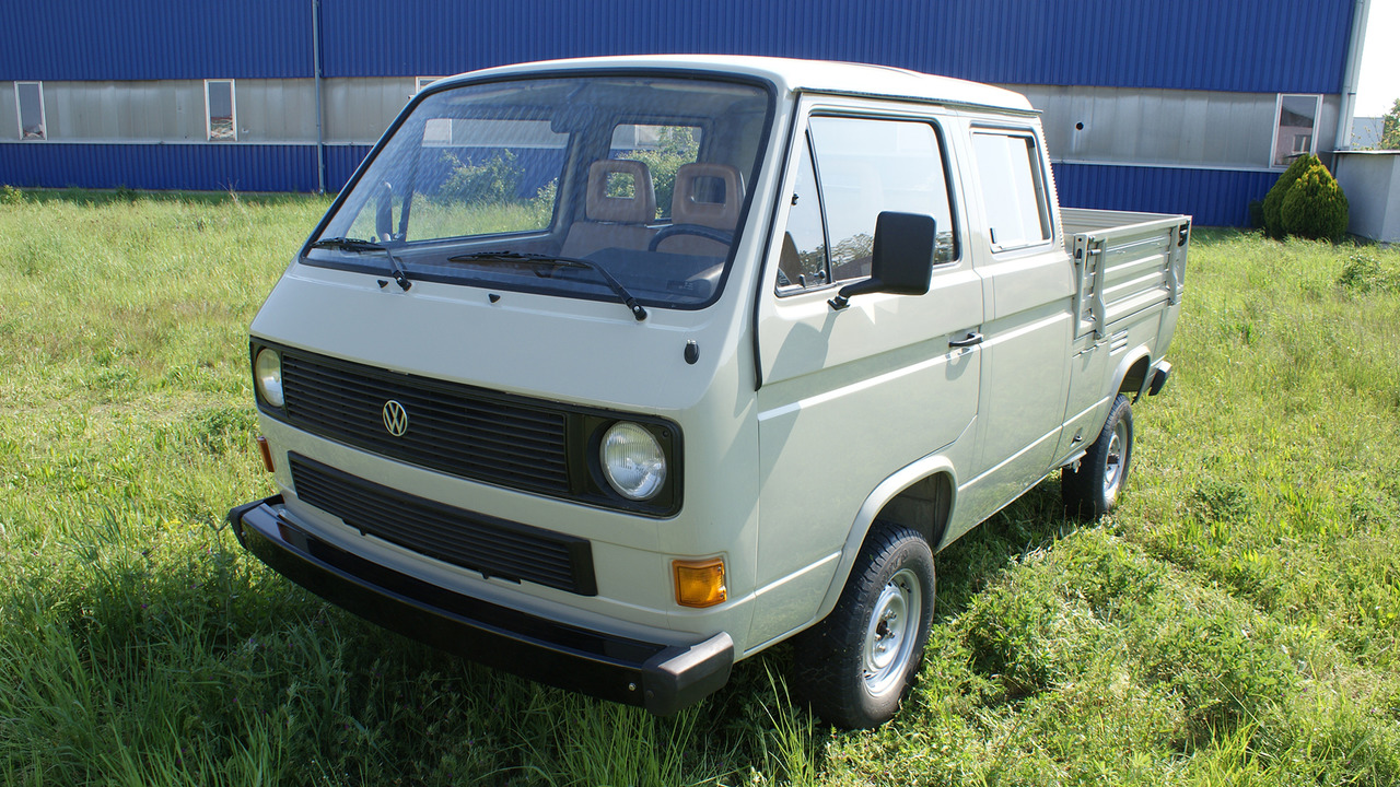 1989 Volkswagen T3 Doka owned by Porsche