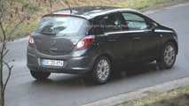 New Opel Corsa Uncovered