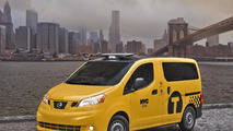 2014 Nissan NV200 New York City Taxi of Tomorrow 03.04.2012