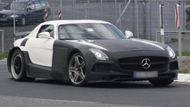 Mercedes SLS AMG Black Series spy photo 10.10.2012