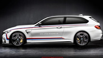 BMW M4 Shooting Brake render