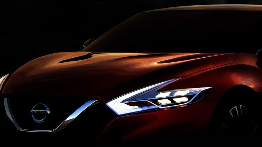 Nissan Sport Sedan concept teased for Detroit, previews a production model