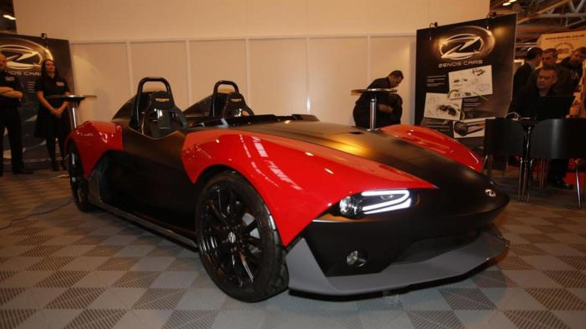 Ex Caterham boss fully reveals the Zenos E10 at Autosport International