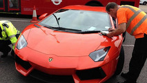 UK Police auction seized Lamborghini Aventador for £218K