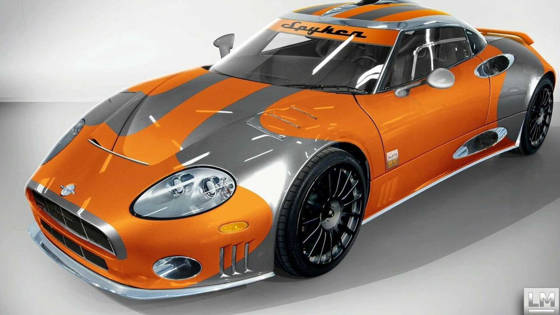 Spyker Introduces Spyker C8 Laviolette LM85