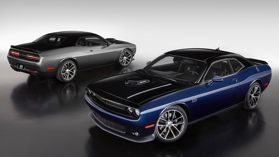 Mopar's custom Challenger features hand-applied two-tone paint