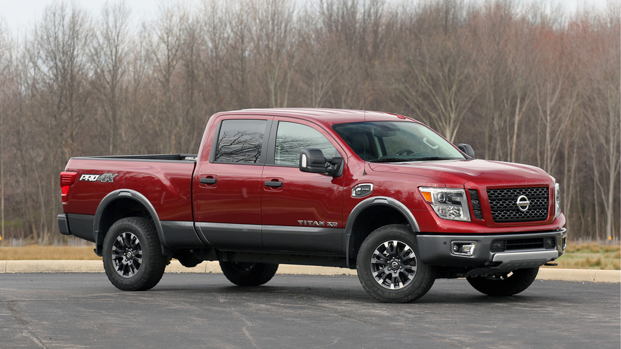 Nissan recalls 12k 2016 Titan Diesels for running out of fuel