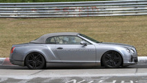2012 Bentley Continental GTC facelift spied (Nürburgring)