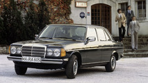 Mercedes celebrates the 40th anniversary of the W123