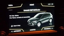 SEAT Aran SUV reveals itself in infotainment display