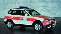 BMW to Display X3 xDrive20d Emergency Rescue Vehicle in Geneva