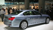 On Board with BMW ActiveHybrid 7 in Motion During Frankfurt Debut [Video]