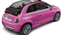Fiat 500C Pink Limited Edition Announced for UK