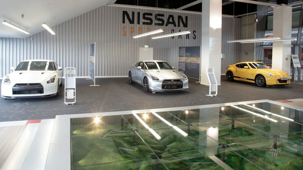 Nissan sportscar shop opens at Nurburgring