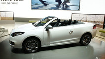 Renault Megane Coupe-Cabriolet Top Down in Geneva