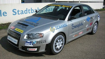 Hohenester Audi A4 sets fastest car world record for biogas powered vehicle