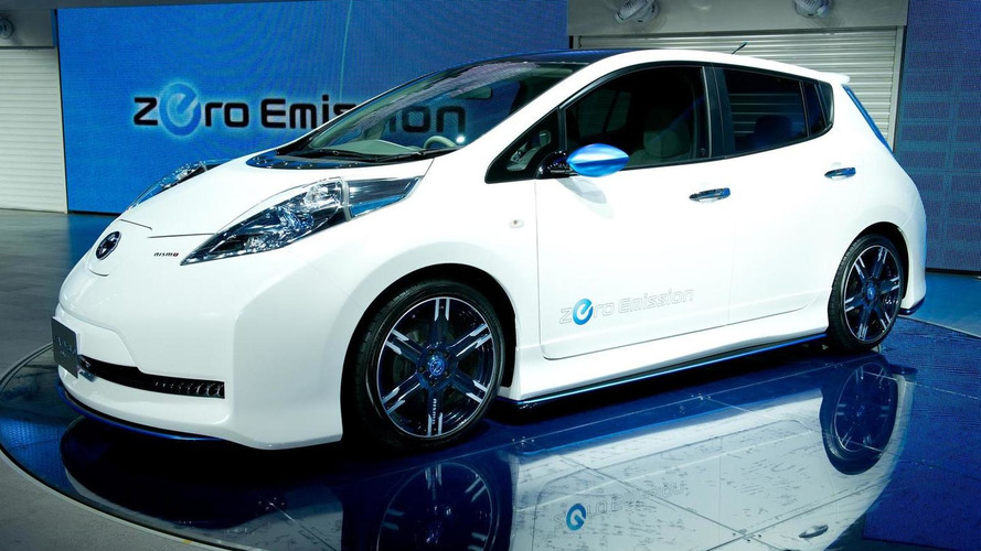 Nissan Leaf Nismo Concept shows the power of aggression