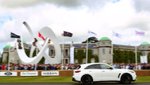 Sebastian Vettel drives namesake Infiniti FX for first time at Goodwood 02.07.2012