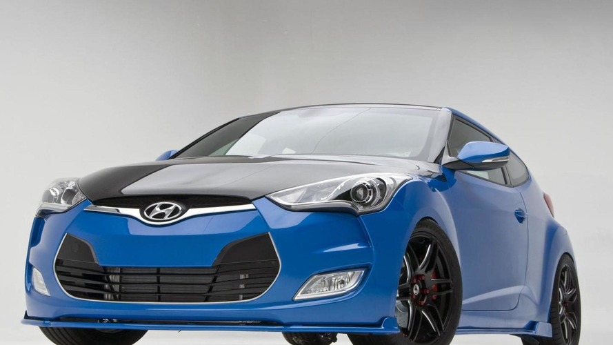Hyundai Velosters enter the SEMA fray