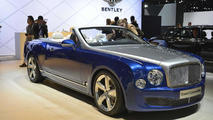 Bentley Grand Convertible concept drops its top in Los Angeles