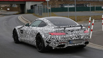 High-performance Mercedes-AMG GT prototype spy photo