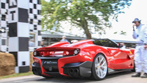 Ferrari F12 TRS live at Goodwood