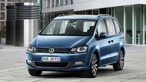 Volkswagen Sharan facelift officially revealed with overhauled engine lineup