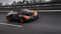 On-board video with Bugatti Veyron 16.4 Grand Sport Vitesse WRC Edition