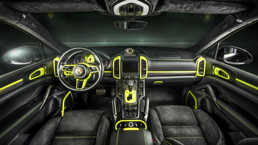 Does this custom Porsche Cayenne S interior make you green with envy?