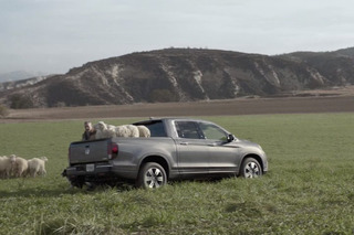Honda Ridgeline Super Bowl Ad Centers on Singing Sheep and Sensibility