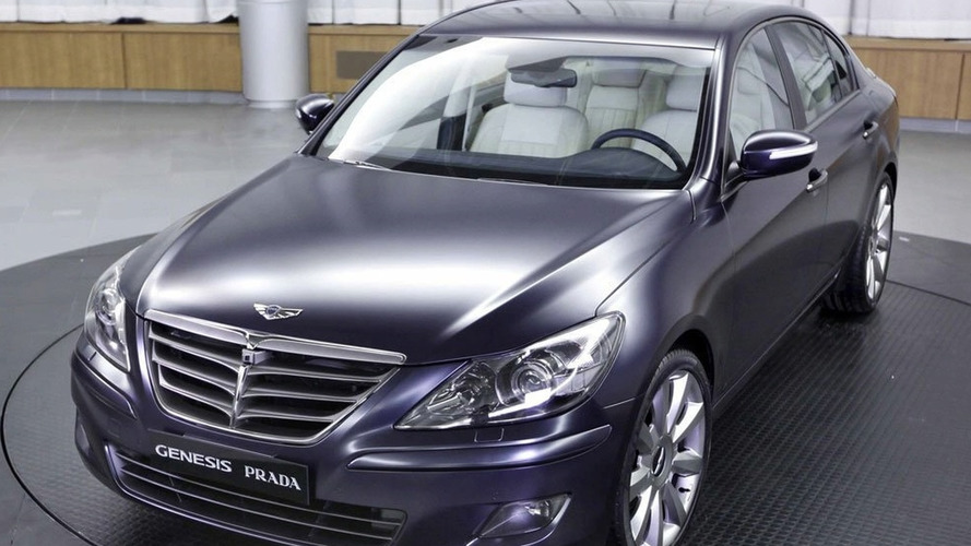 Hyundai Genesis Prada Additional Images and Details Released Prior to Seoul Debut