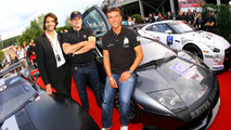 Stephane RATEL Chairman of SRO - Hans Reiter - Peter Kox - Lamborghini