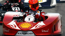 Schumacher trains for F1 return by karting