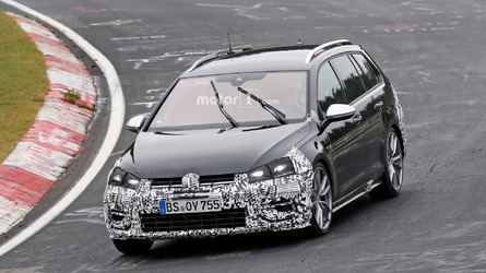 VW Golf R Variant facelift spied one last time ahead of November 10 reveal